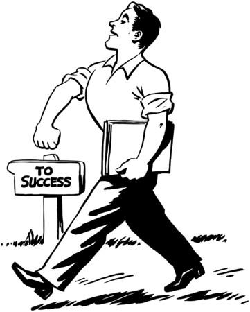 struts: Walking Proud Illustration