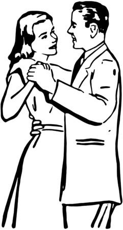 waltzing: Waltzing Couple 2