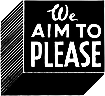 specials: We Aim To Please Illustration