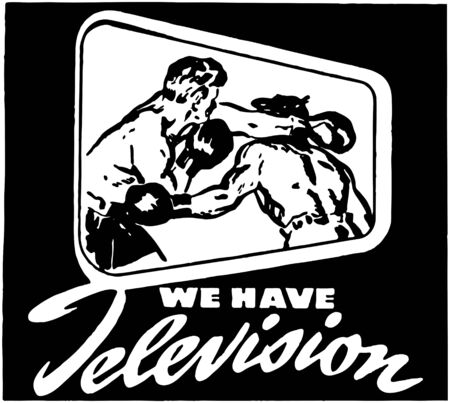 We Have Television Vector