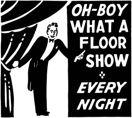 chorus: What A Floor Show