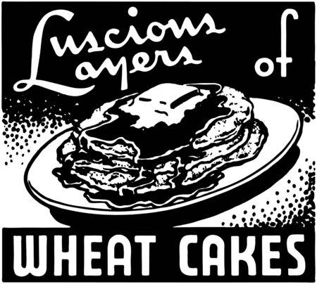 Wheat Cakes Vector