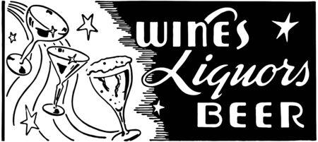 wines: Wines Liquors Beer