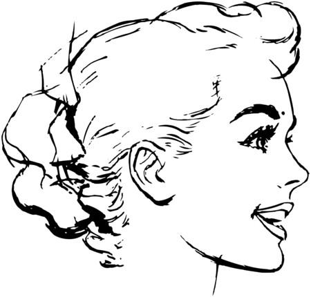 gals: Womans Bun Hairstyle