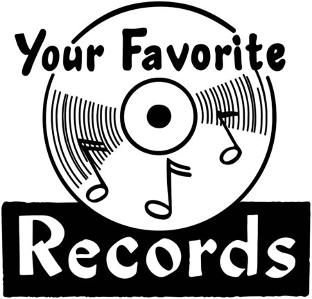 Your Favorite Records Stockfoto - 28347578