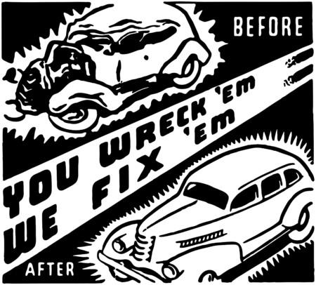 collisions: You Wreckem We Fixem