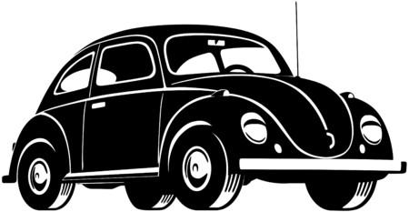 classic: Escarabajo de coches Vectores
