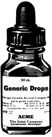 goteros: Gotas de Medicina Vectores