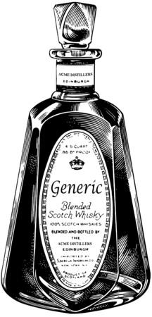 edinburgh: Whiskey Fles
