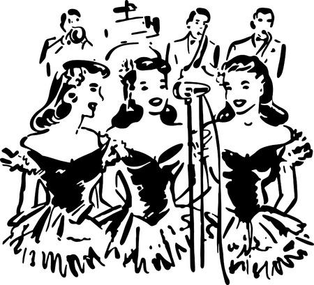 40s: Singing Sisters