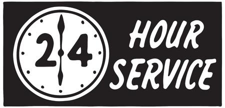 24 Hour Service 2 Иллюстрация