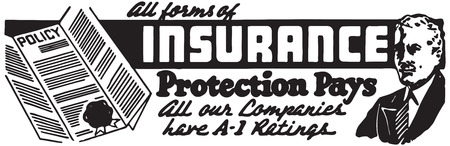 All Forms Of Insurance Vector Illustration