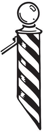 Barbers Pole Фото со стока