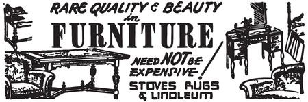 Furniture Stockfoto
