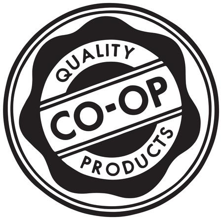 Produits Coop de qualité Banque d'images