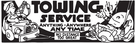 Towing Service 写真素材