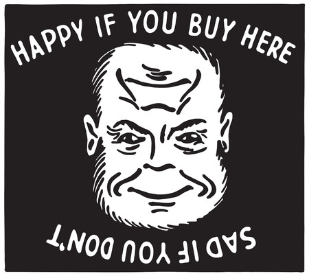 Happy If You Buy Here 写真素材