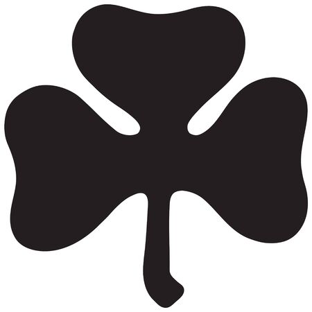 Shamrock - the classic symbol for the Irish 스톡 콘텐츠