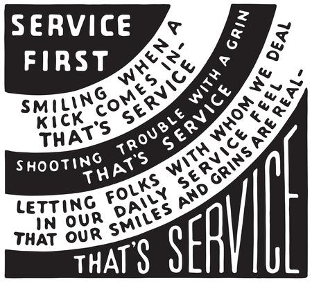 Service First Banco de Imagens - 123727906