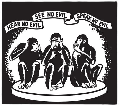 Hear No Evil 2 Stock fotó