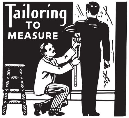 Tailoring To Measure Stock Photo