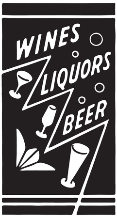 Wines Liquors Beer 6 스톡 콘텐츠