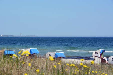 baltic sea: Beach at the baltic sea Stock Photo