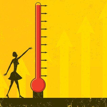 목표 온도계