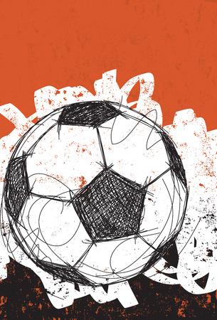 Fußball Hintergrund Standard-Bild - 36475543