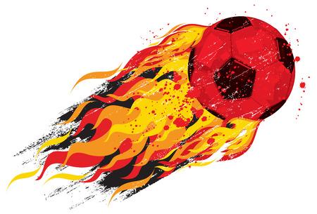 soccerball: Flaming soccerball