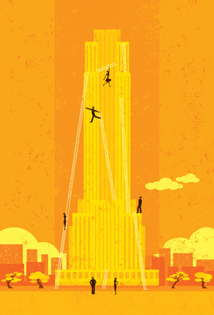 corporate ladder: Climbing the Corporate Ladder