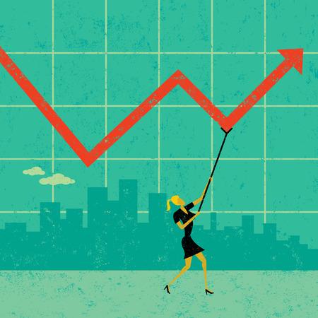Maintaining Profits Stock Illustratie