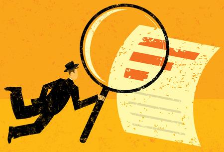 looking glass: Examining Financial Data Illustration