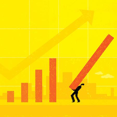 Revenue Projection Ilustrace