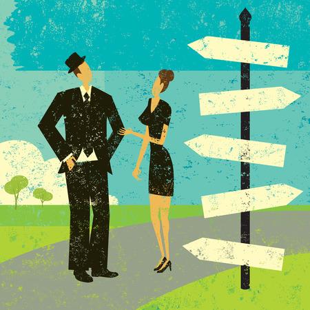 Choosing a destination Vector