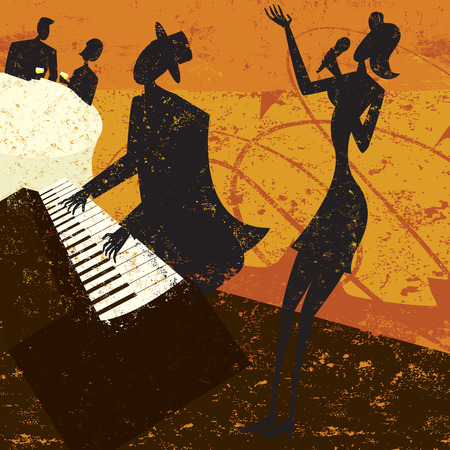 fortepian: Klub Singer
