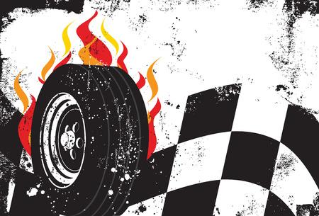 bandera carreras: Racing de fondo