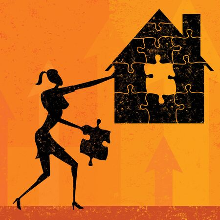 Solving Home Mortgage Problems Иллюстрация