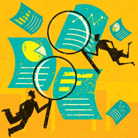 Het onderzoeken van financiële documenten