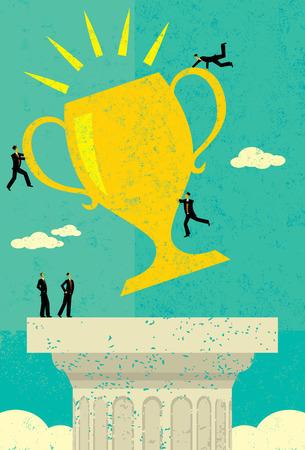 team success: Business Team Success Illustration