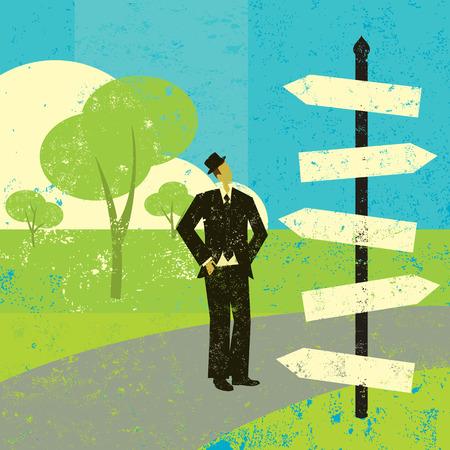 business change: Choosing a destination