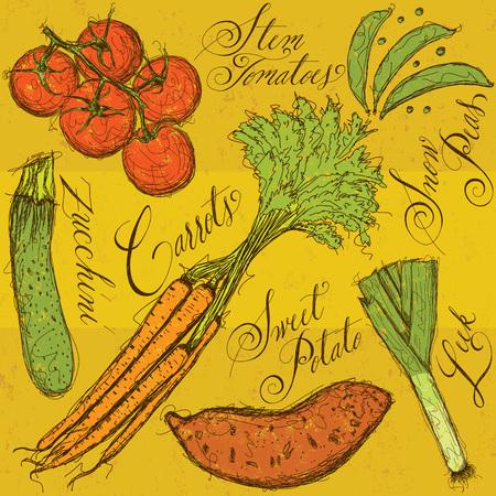 raw potato: Vegetables