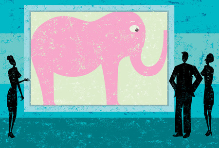 obvious: Ignoring the pink elephant in the room