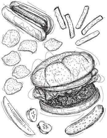 buns: Fast food