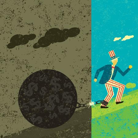 breaking free: America breaking free from its National debt
