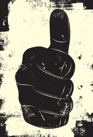 thumb's up: Thumbs up hand sign
