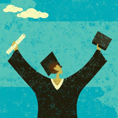 graduation gown: Graduate