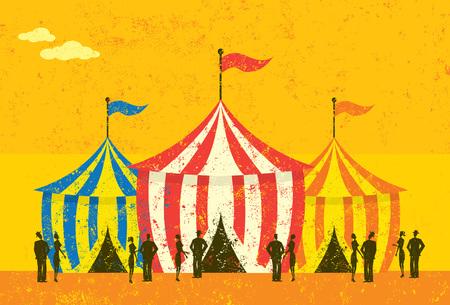 Tent Event Illustration