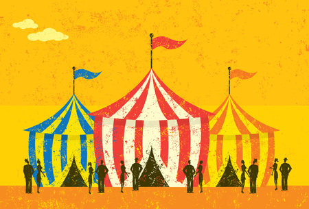event: Tent Event Illustration