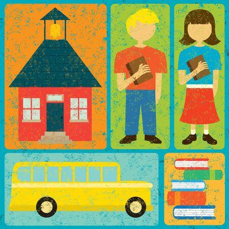 schoolkid: Back to School Illustration